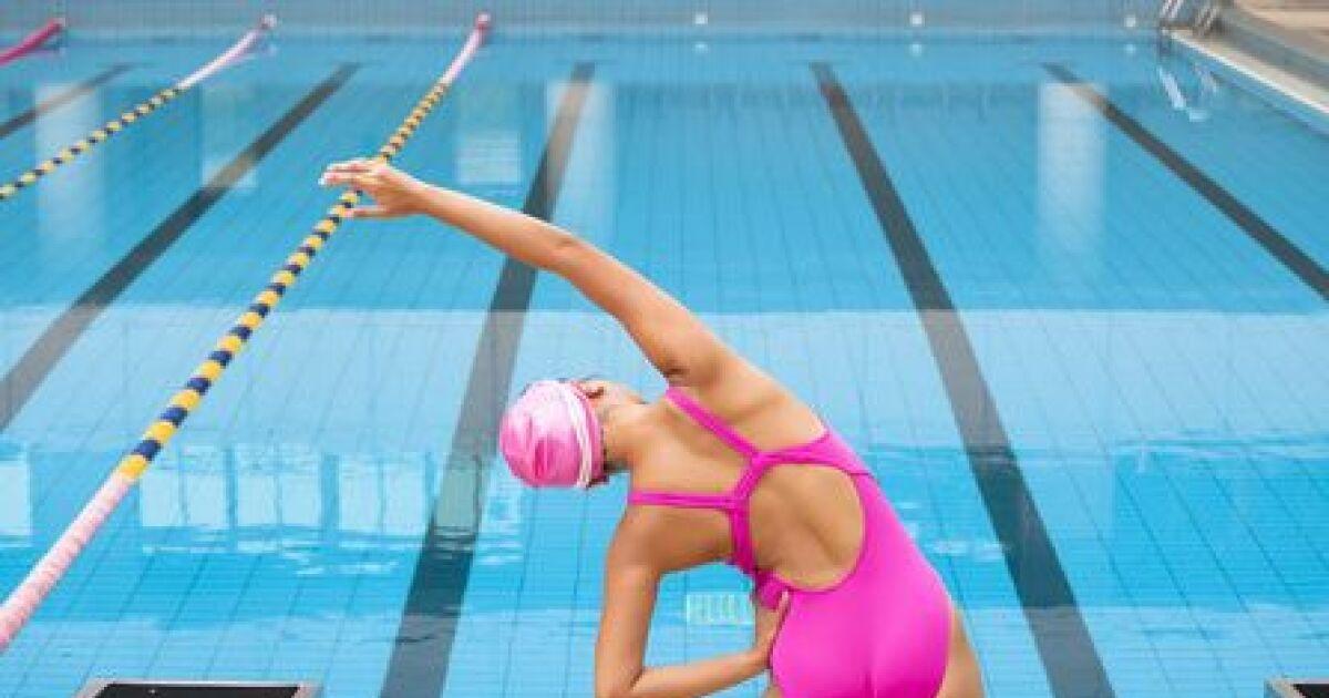 La pr paration hors de l eau pour la natation synchronis e - Preparation accouchement piscine ...