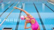 La préparation hors de l'eau pour la natation synchronisée