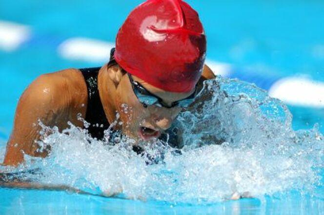 La propulsion du nageur en natation