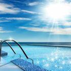 La rampe de piscine