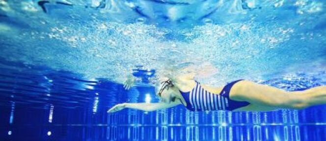 "La respiration en natation<span class=""normal italic petit"">© Laure Manaudou Design</span>"