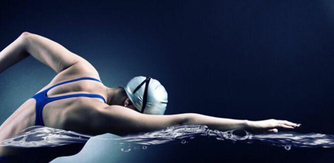 """La respiration pendant le 4 nages<span class=""""normal italic petit"""">DR</span>"""