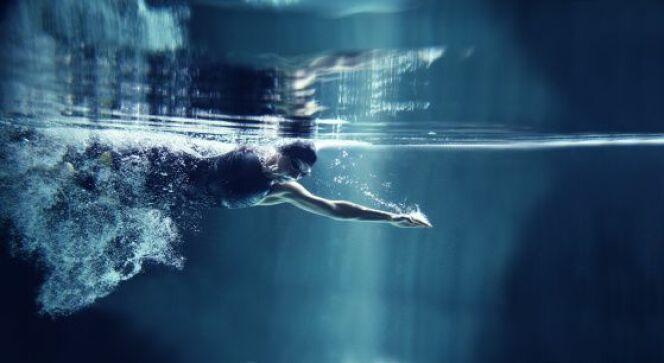 "La respiration pendant une culbute en natation ?<span class=""normal italic petit"">DR</span>"