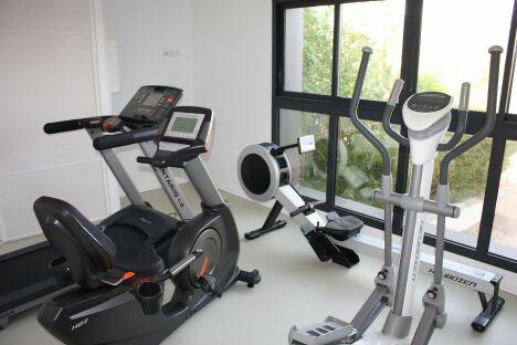 La salle de sport du Résid'Spa Loire & Sèvre à Rezé