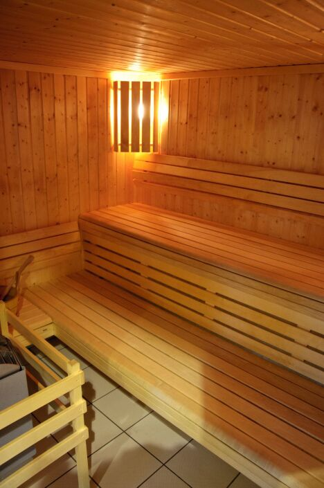 "La sauna de la piscine à Egletons<span class=""normal italic petit"">© Centre aqua récréatif d'Egletons</span>"