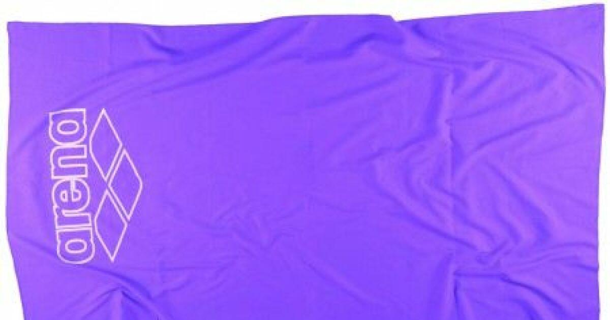 la serviette halys en microfibre d arena