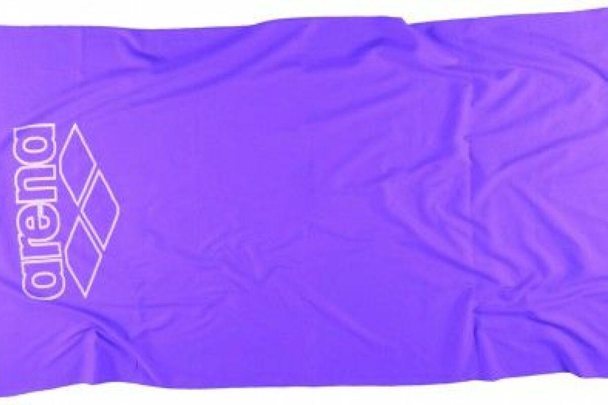 Comment Rouler Les Serviettes De Bain la serviette halys en microfibre d'arena - guide-piscine.fr
