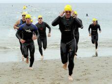 La sortie à l'australienne en triathlon