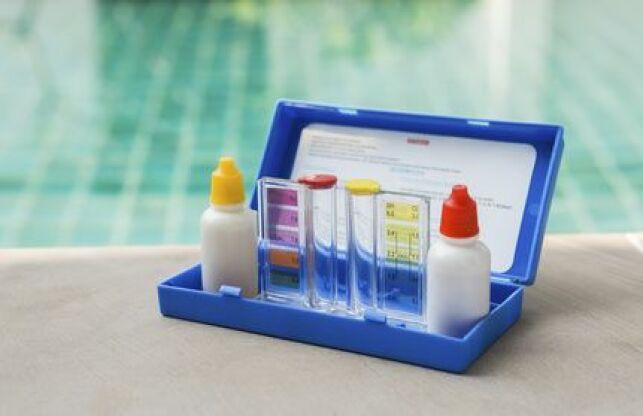 La trousse d'analyse piscine