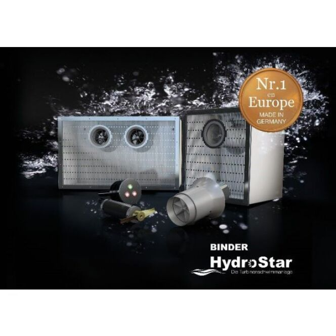 La turbine de nage à contre-courant Hydrostar, de Binder