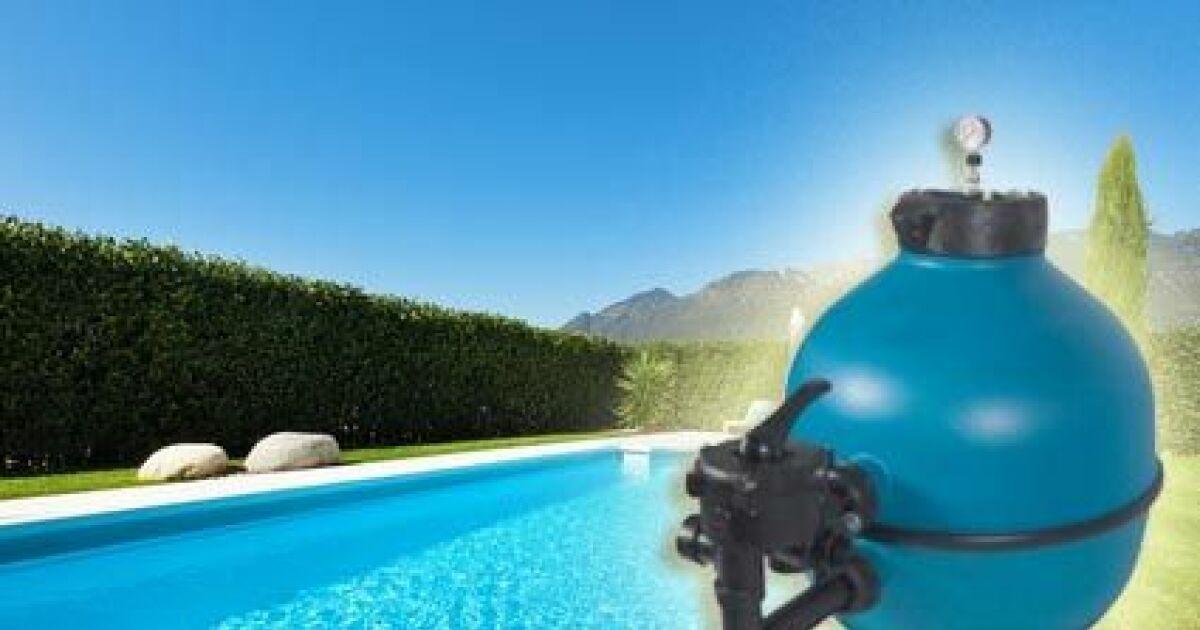 La vanne multivoies pour le filtre de piscine for Filtre eau piscine