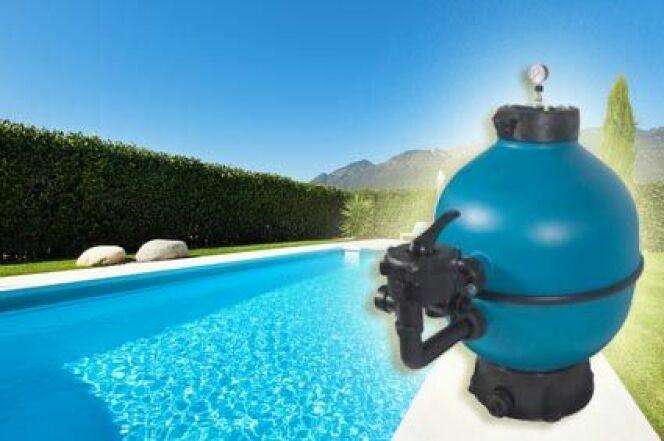 """La vanne multivoies pour le filtre de piscine<span class=""""normal italic petit"""">DR</span>"""