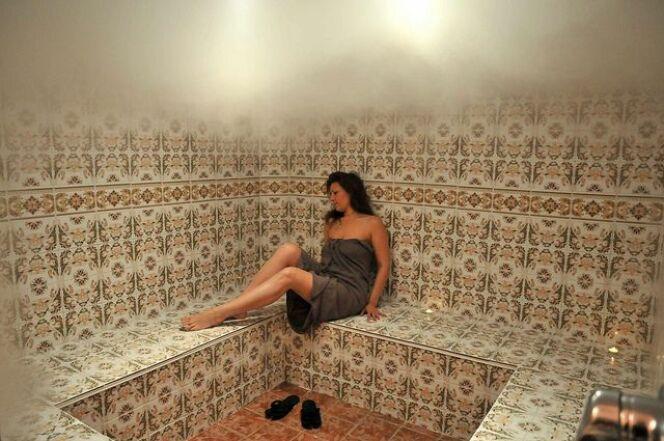 La ventilation d'un hammam