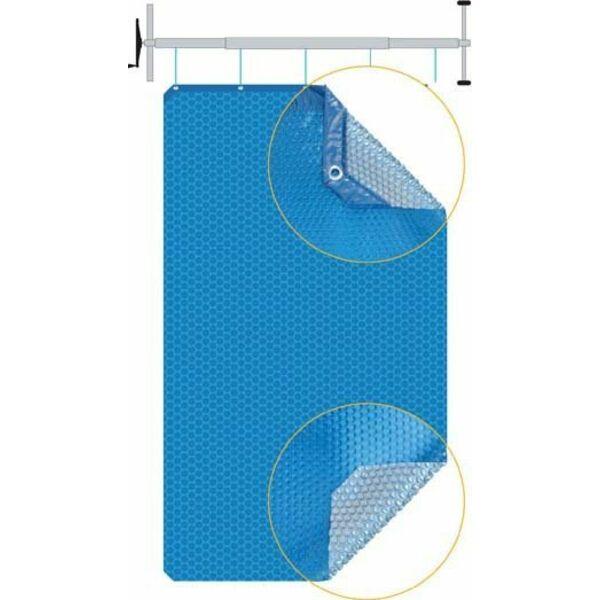 La b che bulles une couverture solaire pour l t for Bache solaire pour piscine