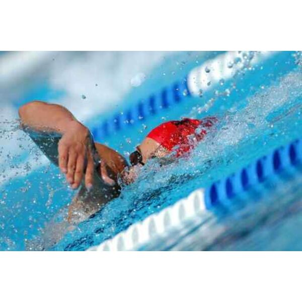 Perdre du poids dans une piscine