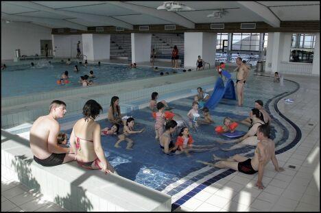 La pataugeoire de la piscine de Cherbourg