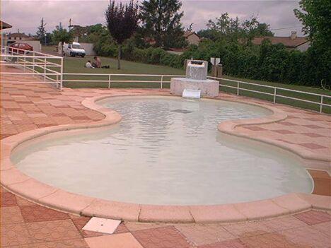 La pataugeoire de la piscine de Nègrepelisse