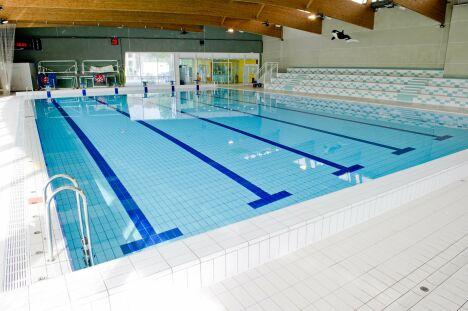 La piscine de Livry-Gargan possède des gradins
