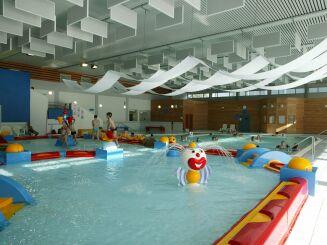 La piscine de Moulins propose des installations pour les enfants