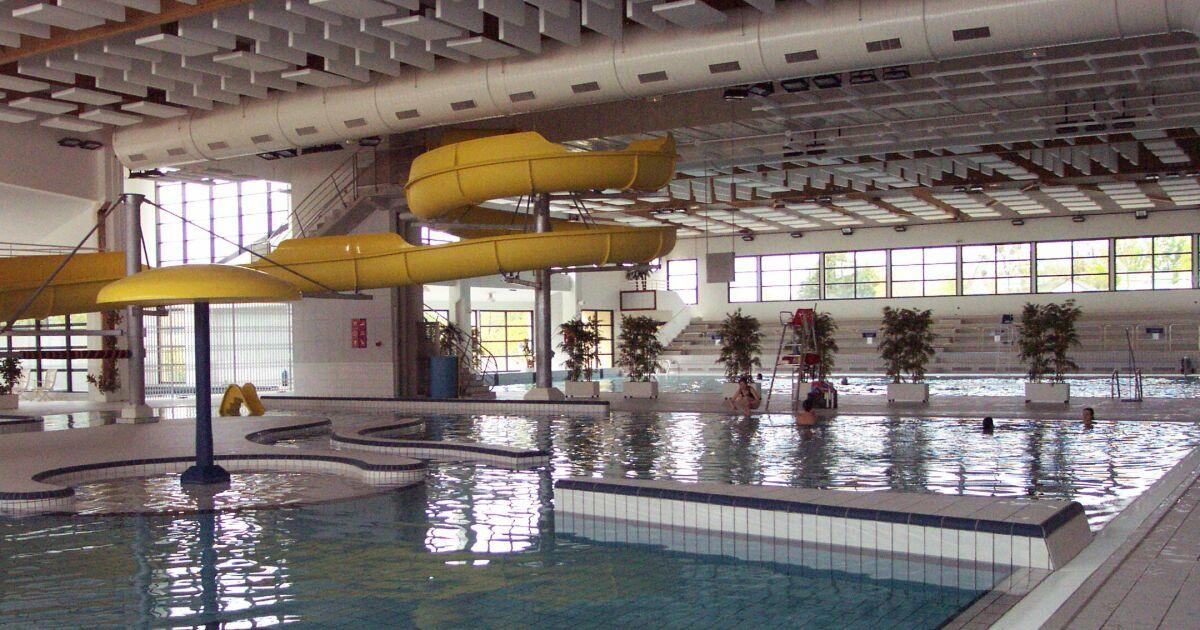 D co piscine municipale avec toboggan creteil 3331 for Bar la piscine paris 18