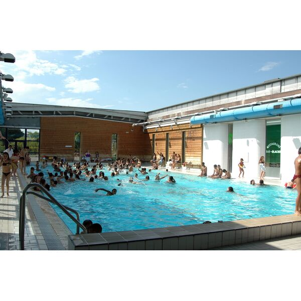Centre aquatique du loup pendu piscine rillieux la for Piscine de grand champ