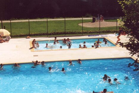 La piscine de Saint Berthevin