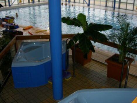 """La piscine de Vierzon<span class=""""normal italic petit"""">DR</span>"""