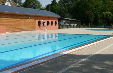 La piscine de Vinay