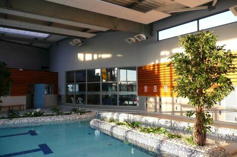 La piscine du centre aquatique Aquacap à Esquibien