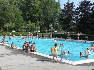La piscine les Pins à Haguenau
