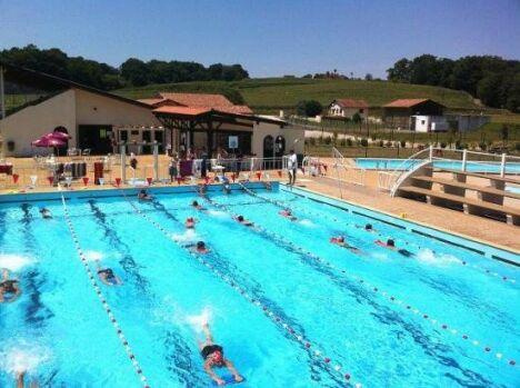 """La piscine municipale de Pouillon<span class=""""normal italic petit"""">DR</span>"""