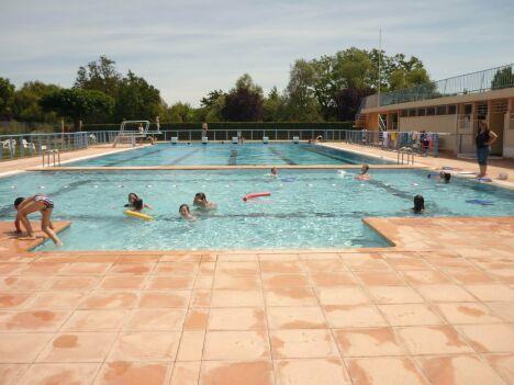 La piscine municipale de Samatan