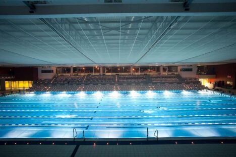 "La piscine olympique de Chartres<span class=""normal italic"">© L'Odyssée de Chartres</span>"