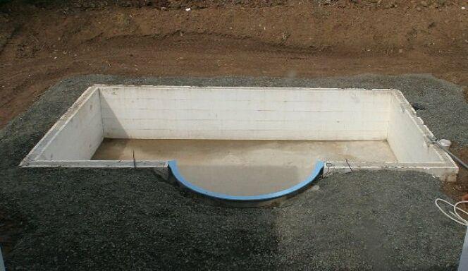 La structure de la piscine