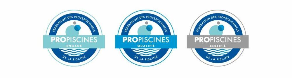 Label ProPiscines® : 3 niveaux de labellisation© FPP / ProPiscines®