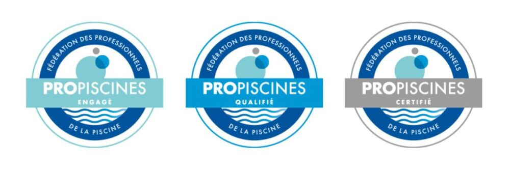 Label ProPiscines® : 3 niveaux de qualification possibles© FPP / ProPiscines®