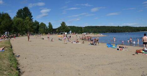 Lac de la Triouzoune à Neuvic