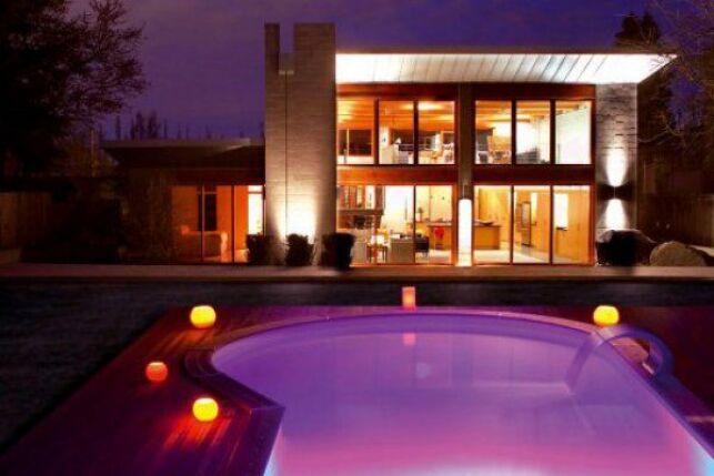 Lampe de piscine