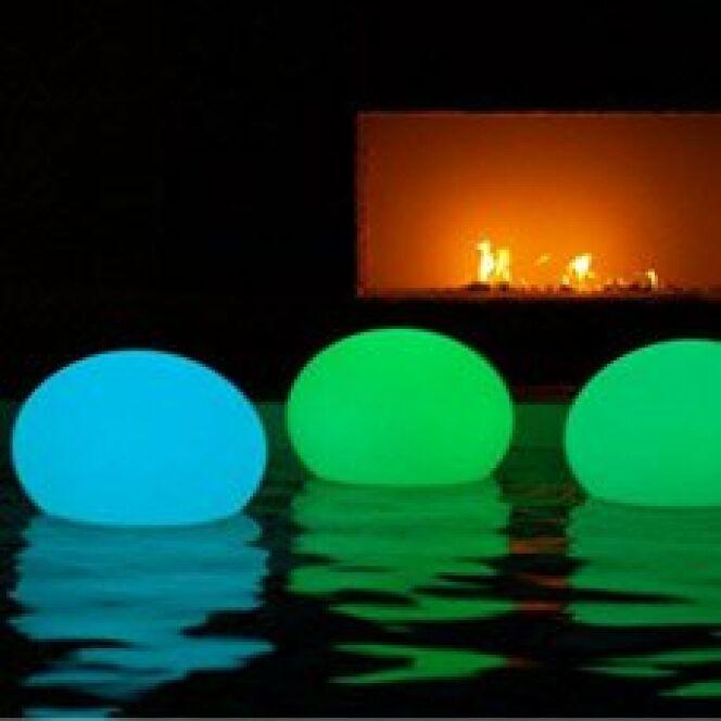 Lampe Flottante Piscine Flatball