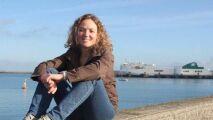 Lauriane Bonnamant s'entraîne pour la traversée de la Manche