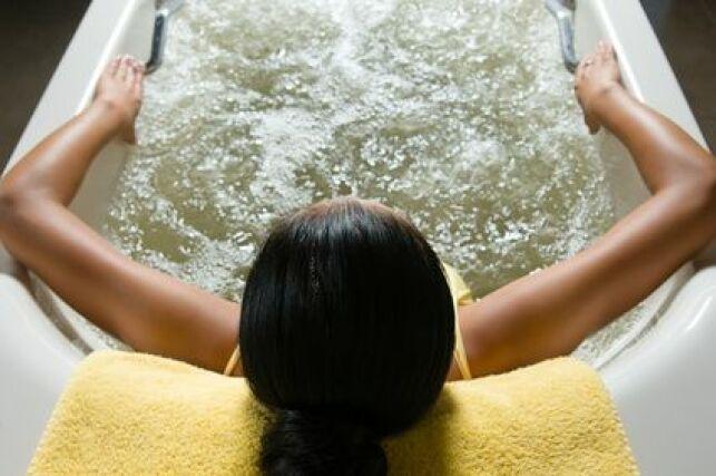 Le bain d'aéromassage