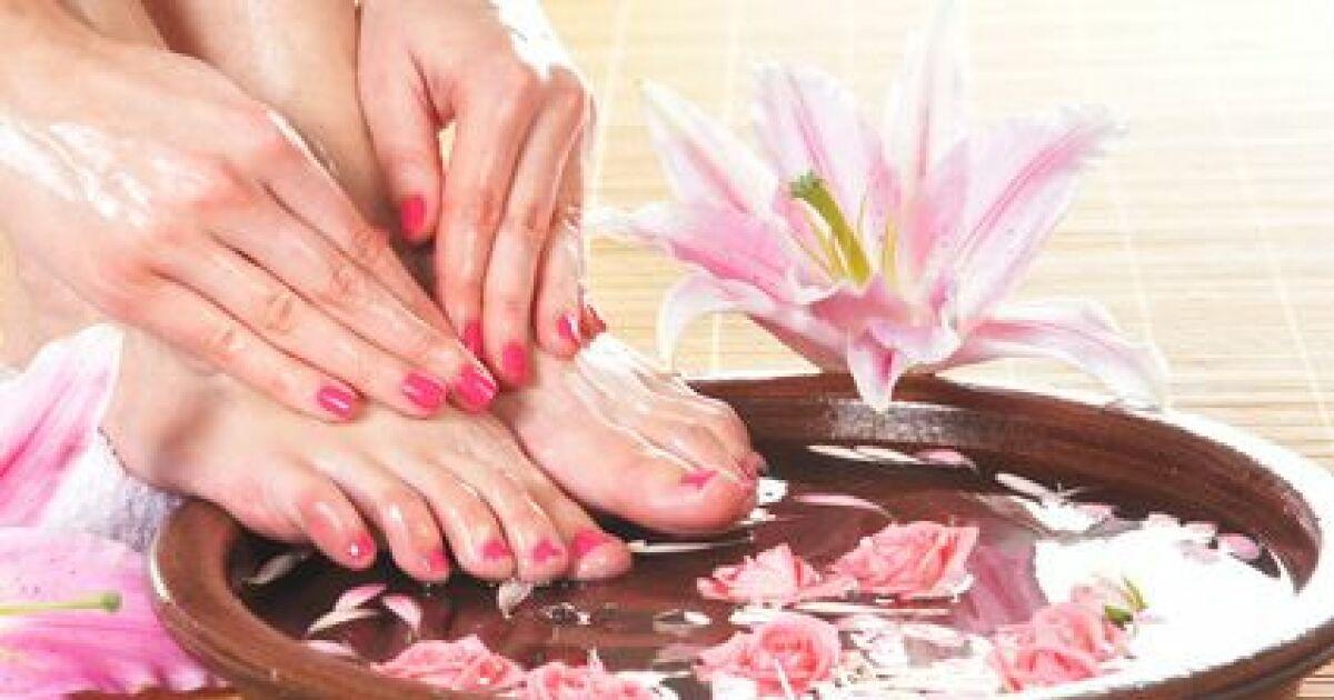 un bain de pied des petons tout beaux pour l 233 t 233