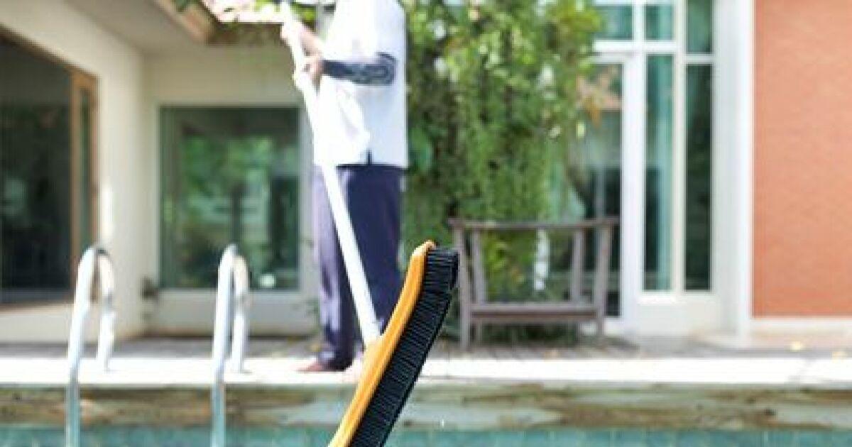 Le balai brosse de piscine for Balai fond de piscine