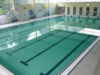 Le bassin de natation du Nautilus à Amiens