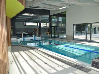 le bassin ludique de la piscine d'Auby
