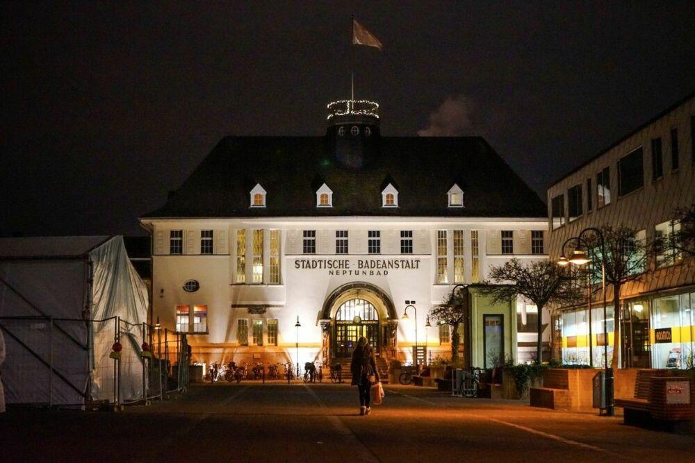 le bâtiment du Neptunbad de Cologne.© trover