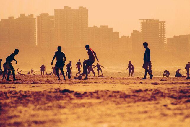 Le beach soccer