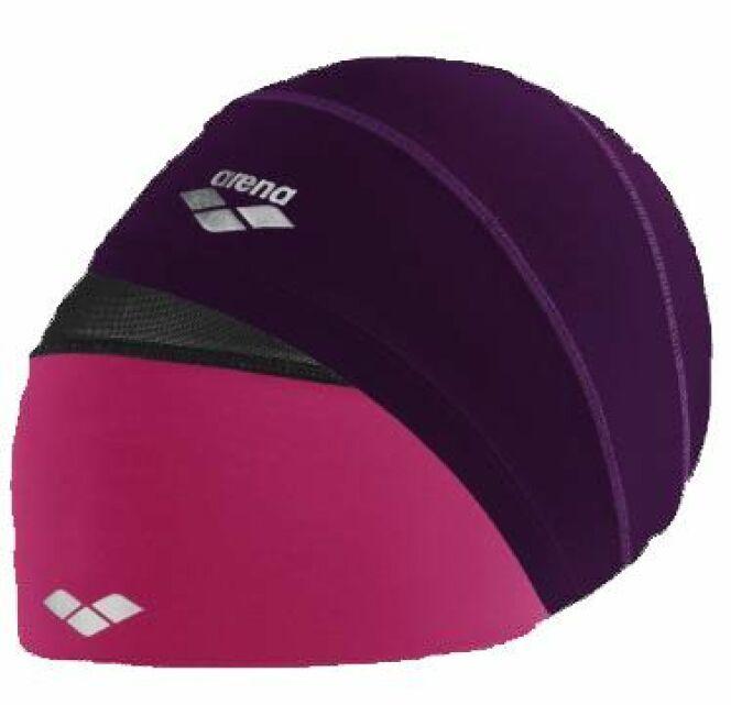 Le bonnet de bain spécial cheveux longs Smartcap par Arena, version rose