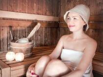 Le bonnet de sauna