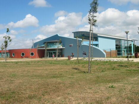 """Le centre aquatique de Lamballe Communauté<span class=""""normal italic petit"""">© Lamballe Communauté</span>"""